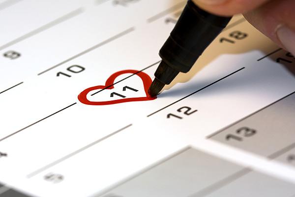 У вас есть время выбрать красивую дату